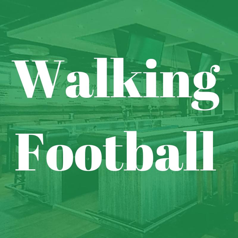 Walking Footbal: zondag 17 oktober