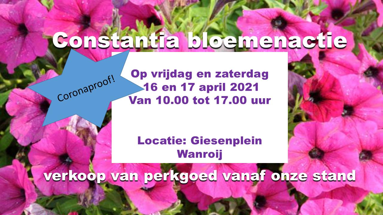 Constantia bloemenactie